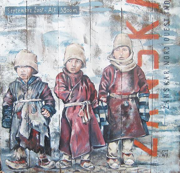 """5 """"Les enfants""""Zanskar"""