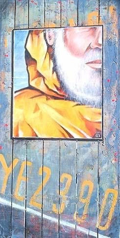 8 Grand profil jaune